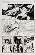 Original Comic Art:Panel Pages, Cully Hamner and Tom Christopher Silver Surfer #83 StoryPage 8 Original Art (Marvel, 1993)....