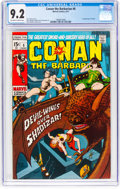 Bronze Age (1970-1979):Adventure, Conan the Barbarian #6 (Marvel, 1971) CGC NM- 9.2 Off-white to white pages....