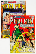 Bronze Age (1970-1979):Miscellaneous, Showcase #38 and 39 Metal Men Group (DC, 1962) Condition: Average FN/VF.... (Total: 2 )