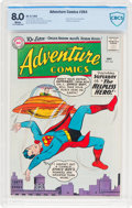 Silver Age (1956-1969):Superhero, Adventure Comics #264 (DC, 1959) CBCS VF 8.0 White pages....