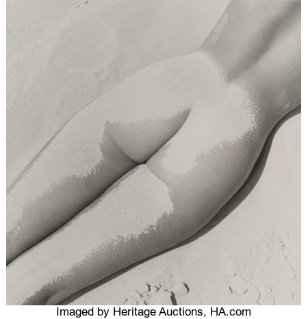 Fernand Fonssagrives (French, 1910-2003) Nu Sable, 1949 Gelatin silver, printed later 10-1/2 x 10-1/4 inches (26.7 x ...