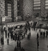 Harold Roth (American, 1918-2001) Grand Central Station, New York, 1950 Gelatin silver, 1996 10-7