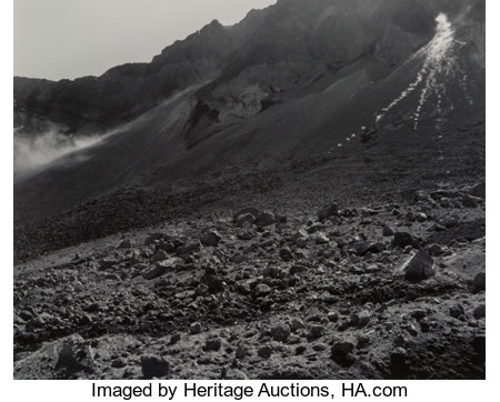 Frank Gohlke (American, b. 1942) Five Views of Mount St. Helen (5 works) Gelatin silver 18 x 22-1/4 inches (45.7 x 56...