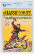Golden Age (1938-1955):Adventure, Classic Comics #22 The Pathfinder - First Edition (Gilberton, 1944) CBCS FN+ 6.5 Off-white to white pages....