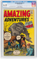 Silver Age (1956-1969):Horror, Amazing Adventures #1 (Marvel, 1961) CGC FN 6.0 Cream to off-white pages....