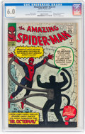 Silver Age (1956-1969):Superhero, The Amazing Spider-Man #3 (Marvel, 1963) CGC FN 6.0 Cream tooff-white pages....