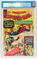 Silver Age (1956-1969):Superhero, The Amazing Spider-Man #14 (Marvel, 1964) CGC FN 6.0 Off-whitepages....