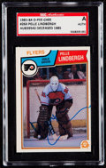 Autographs:Sports Cards, Signed 1983 O-Pee-Chee Pelle Lindbergh SGC Authentic....