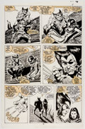 Original Comic Art:Panel Pages, John Buscema Wolverine #7 Story Page 10 Original Art (Marvel, 1989)....
