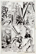 Original Comic Art:Panel Pages, Syd Shores and Frank Giacoia Daredevil #102 Story Page 17 Original Art (Marvel, 1973)....