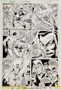 Original Comic Art:Panel Pages, Don Heck and Don Perlin Sub-Mariner #66 Story Page 4 Original Art (Marvel, 1973)....