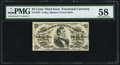 Fractional Currency:Third Issue, Fr. 1294 25¢ Third Issue PMG Choice About Unc 58.. ...
