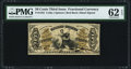 Fractional Currency:Third Issue, Fr. 1355 50¢ Third Issue Justice PMG Uncirculated 62 EPQ.. ...
