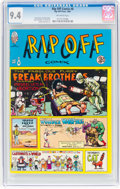 Bronze Age (1970-1979):Alternative/Underground, Rip Off Comix #8 (Rip Off Press, 1981) CGC NM 9.4 Off-white pages....