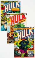 Bronze Age (1970-1979):Superhero, The Incredible Hulk Group of 21 (Marvel, 1972-77) Condition:Average VF/NM.... (Total: 21 Comic Books)