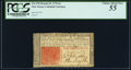 Colonial Notes:New Jersey, New Jersey March 25, 1776 6s PCGS Choice About New 55.. ...