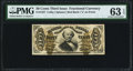 Fractional Currency:Third Issue, Fr. 1327 50¢ Third Issue Spinner PMG Choice Uncirculated 63 EPQ.. ...