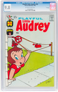 Silver Age (1956-1969):Cartoon Character, Playful Little Audrey #59 File Copy (Harvey, 1965) CGC NM/MT 9.8 Off-white to white pages....