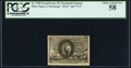 Fractional Currency:Second Issue, Fr. 1290 25¢ Second Issue PCGS Choice About New 58.. ...