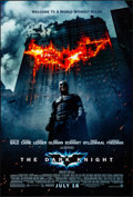 """Movie Posters:Action, The Dark Knight (Warner Brothers, 2008). Rolled, Very Fine+. One Sheet (27"""" X 40"""") DS, Advance. Action.. ..."""
