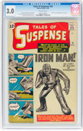 Silver Age (1956-1969):Superhero, Tales of Suspense #39 (Marvel, 1963) CGC GD/VG 3.0 Off-whitepages....