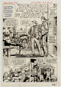 Original Comic Art:Panel Pages, Dick Ayers Rawhide Kid #36 Story Page 1 Original Art (Marvel, 1963)....