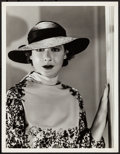 """Movie Posters:Miscellaneous, Mae Clarke by Clarence Sinclair Bull (MGM, 1934). Very Fine. Portrait Photo (10"""" X 13""""). Miscellaneous.. ..."""