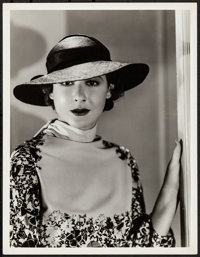 """Mae Clarke by Clarence Sinclair Bull (MGM, 1934). Very Fine. Portrait Photo (10"""" X 13""""). Miscellaneous"""
