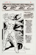 Original Comic Art:Splash Pages, Dick Ayers and Andrew Pepoy Untold Tales of Spider-Man '97Annual The Eel Pin-Up Illustration Original Art (Marve...