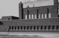 Photographs:Gelatin Silver, Aaron Siskind (American, 1903-1991) and L. Gittleman. Two Views of People's Savings Bank, Cedar Rapids, Iowa. Gelatin si... (Total: 2 )