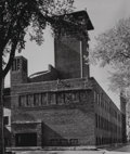 Photographs:Gelatin Silver, Aaron Siskind (American, 1903-1991) and L. Gittleman. Four Views of St. Paul's Methodist Church, Cedar Rapids, Iowa (four ... (Total: 4 )