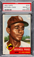 Baseball Cards:Singles (1950-1959), 1953 Topps Satchell Paige #220 PSA NM-MT 8 (OC)....