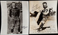 Autographs:Photos, George Halas & Red Grange Signed Photograph Lot of 2.... (Total: 2 items)