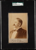 "Boxing Cards:General, 1890's John L. Sullivan Cabinet Photo ""Yours Truly"" SGC 30 Good 2...."