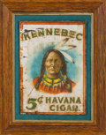 Advertising:Signs, Kennebec Cigar Advertising Sign...