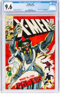 Silver Age (1956-1969):Superhero, X-Men #56 (Marvel, 1969) CGC NM+ 9.6 Off-white to white pa...