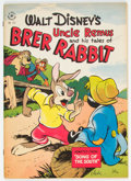 Golden Age (1938-1955):Cartoon Character, Four Color #129 Uncle Remus and His Tales of Br'er Rabbit (Dell, 1946) Condition: VF....