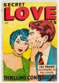 Golden Age (1938-1955):Romance, Fox Giants: Secret Love Stories (Fox Features Syndicate, 1949)Condition: VG-....