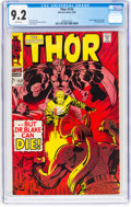 Silver Age (1956-1969):Superhero, Thor #153 (Marvel, 1968) CGC NM- 9.2 White pages....