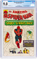Silver Age (1956-1969):Superhero, The Amazing Spider-Man #19 (Marvel, 1964) CGC VF/NM 9.0 Off-white to white pages....