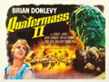 "Movie Posters:Science Fiction, Quatermass II: Enemy from Space (United Artists, 1957). Fine/Very Fine on Linen. British Quad (30"" X 40"").. ..."