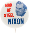 """Political:Pinback Buttons (1896-present), Richard Nixon: A Possibly Unique 1 1/4"""" 1960 Button Variety...."""