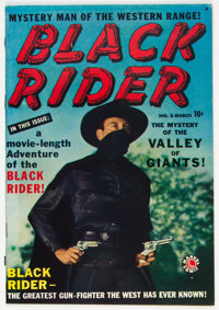 Black Rider #8 (#1) (Atlas, 1950) Condition: Apparent FN/VF