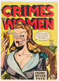 Golden Age (1938-1955):Crime, Crimes by Women #4 (Fox Features Syndicate, 1948) Condition: VG+....