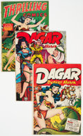 Golden Age (1938-1955):Miscellaneous, Golden Age Good Girl Comics Group of 3 (Various Publishers, 1947-49) Condition: Average VG.... (Total: 3 Comic Books)