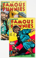 Golden Age (1938-1955):Miscellaneous, Famous Funnies #207 and 208 File Copies Group (Eastern Color, 1953) Condition: Average VF/NM.... (Total: 2 Comic Books)