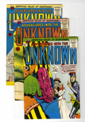 Silver Age (1956-1969):Horror, Adventures Into The Unknown Group (ACG, 1957-66) Condition: AverageFN/VF....