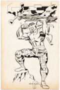Original Comic Art:Splash Pages, Rich Buckler and John Byrne - Hercules Pin-Up Illustration OriginalArt (c. 1972-74)....