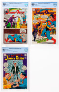 Silver Age (1956-1969):Superhero, Superman's Pal Jimmy Olsen #112, 118, and 123 CBCS-Graded Group (DC, 1968-69).... (Total: 3 )