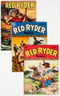 Golden Age (1938-1955):Western, Red Ryder Comics Group of 10 (Dell, 1944-56).... (Total: 10 Items)